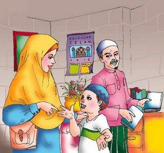 Wujud aktualitas hak-hak anak yang harus dipenuhi oleh orang tua