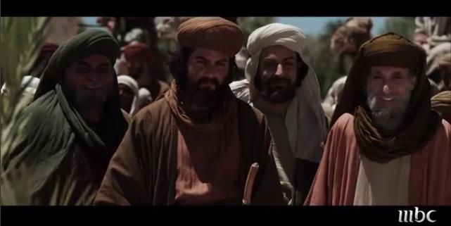Usman, Umar, Ali, Abu Bakar  (MBC, Omar Series)