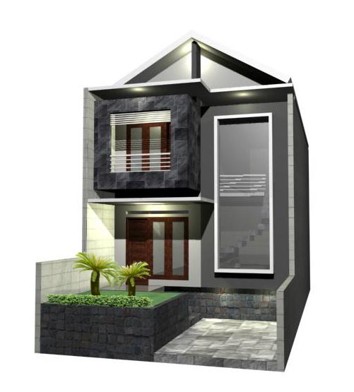 rumah dengan lantai tinggi