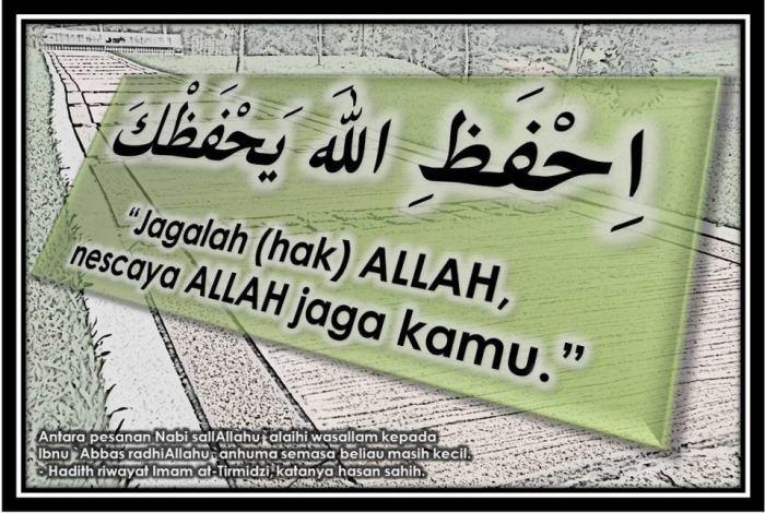 jagalah hak Allah